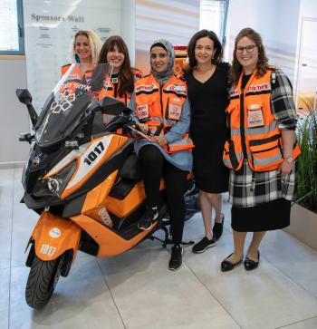 Sheryl Sandberg and Family Honors United Hatzalah Volunteers in Israel