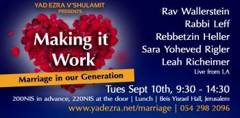 Marriage in our Generation - Making it work