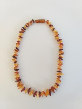 Amber Teething Necklace - Natural Pain Relief for teething