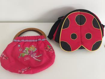 "girls sweet backpack + bag ""lilifee""+ one new for free"