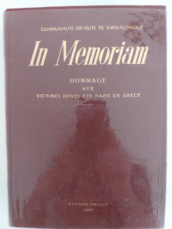 Book In Memoriam