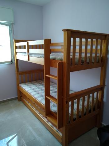 Bunkbed with two pull outs
