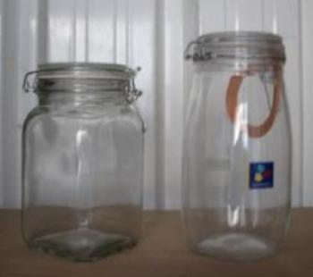 For sale: New glass storage/pickling jars