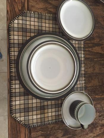 Denby 5 piece 8 place setting