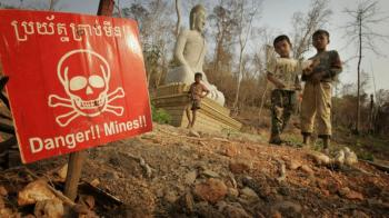 Clearing minefields at much lower risk and cost