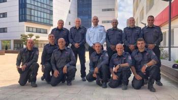 Israeli Firefighters Return as Heroes from Battling Amazon Blazes