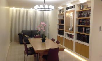 beautiful brand new apt. with huge sukkah