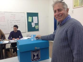 With body cameras and special phone lines, this Israeli election aims for unprecedented transparency