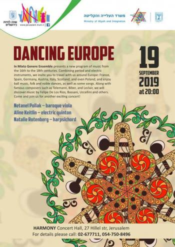 Thursday: Dancing Europe