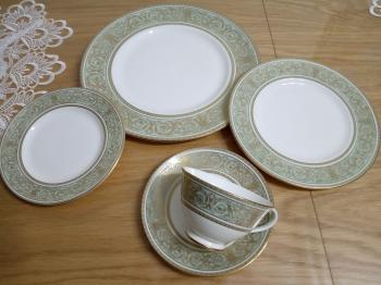 Set of Dishes-Doulton Bone China