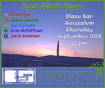Four Winds Home at Blaze Rock Bar!