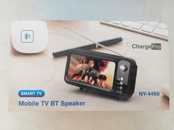 NEW Mobile Smart TV BT Speaker Charge Pro