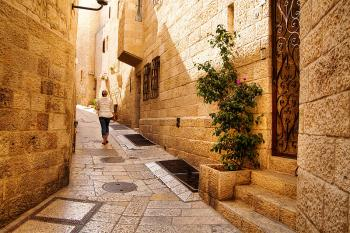 Holy rolling: Old City sites, lanes now accessible for travelers in wheelchairs