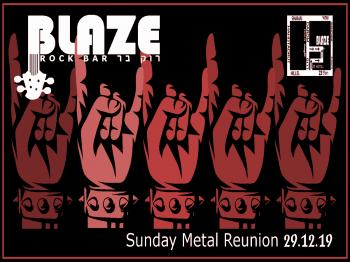 Sunday Metal Reunion at Blaze Rock Bar