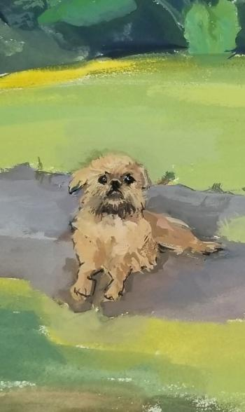Services:Pet portraits and murals