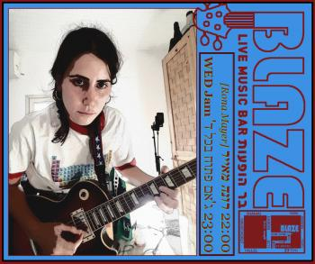 Rona Mayer Live before Wednesday's Open Jam at Blaze Rock Bar