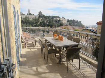 Amazing Townhouse for Sale or Rent fabulous view to the City of David's wall