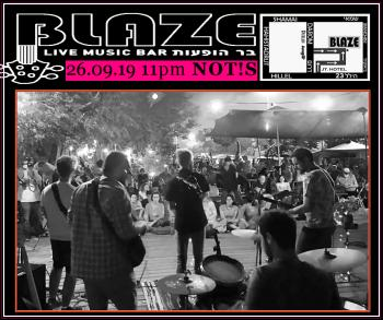 Not!s tonight at Blaze Rock Bar!