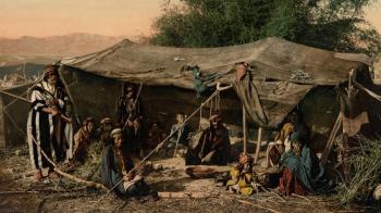 Desert life in the Holy Land for Sukkot