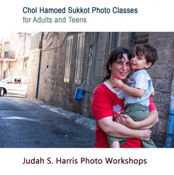 Photo classes on chol hamoed with Judah S. Harris - adults and teens