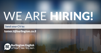 Seeking Teachers in Ashdod, and Kiryat Gat