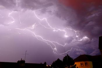Rain and thunderstorms throughout the week