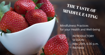 INTRO. TO MINDFUL EATING - Tomorrow Evening