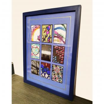 Framed original art