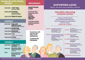 empowered aging- rights services and healthy lifestyle