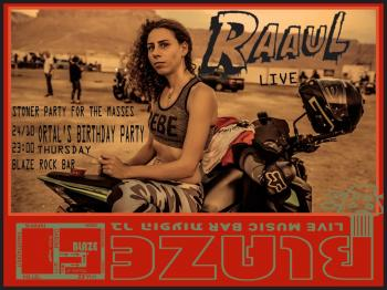 Ortal celebrates her BDAY w/ Raaul Live at Blaze Rock Bar