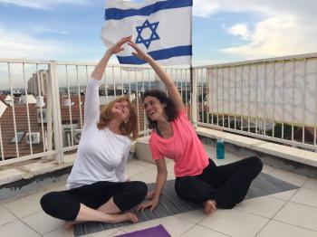 Women's Motzei Shabbat Yoga Class - NEW!