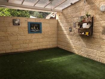 Gorgeous Garden Apt For Sale in Maale Adumim