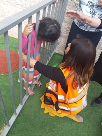 A Kindergarten Rescue - All In a Day�s Work for United Hatzalah