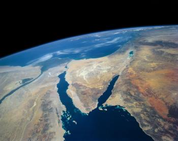 Jewish astronaut in first all-female spacewalk posts photo of Israel from space