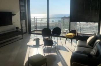 Beautifully designed NEW apartment, Hayarkon, sea views!!!