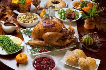Spend Thanksgiving Dinner at the Inbal Hotel