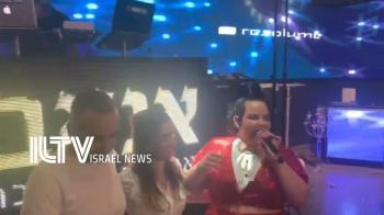 Netta Barzilai's surprise wedding performance