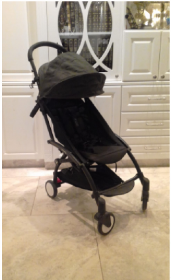 Yoya stroller, great for travel!!