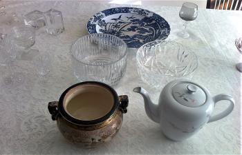 Antique china evaluator