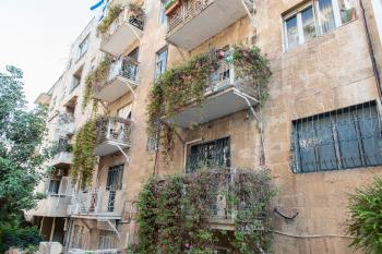 For Sale in Jerusalem in the Nayot Neighborhood 3.5 Room Apartment