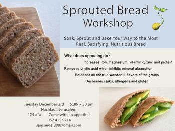 Sprouted Bread Workshop