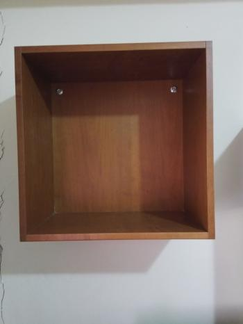 2 Storage Cubes - Wall Mounted