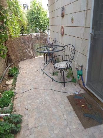 Garden Apt with excellent view to Old City of Jerusalem