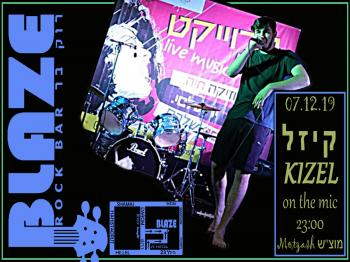 KIZEL with live Hip-Hop at Blaze Rock Bar