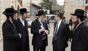 Jerusalem traffic to be affected by Gur hasidic event Monday afternoon