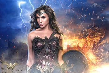 Gal Gadot goes retro in new Wonder Woman trailer