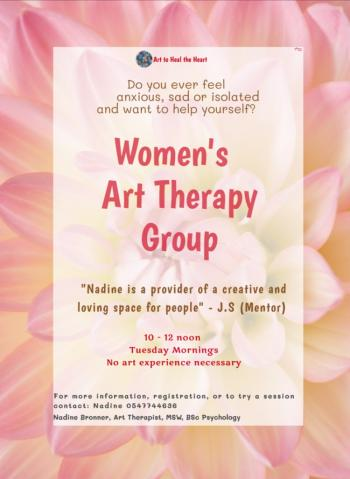 Women�s art therapy group
