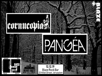 Cornucopia&Pang�a Live at Blaze Rock Bar