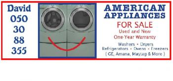 American Appliances For Sale