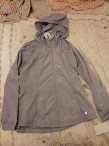 Lilac Women's Raincoat Jacket Brand New w Tags